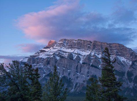Mt Rundle, Banff, AB - ©Derek Chambers