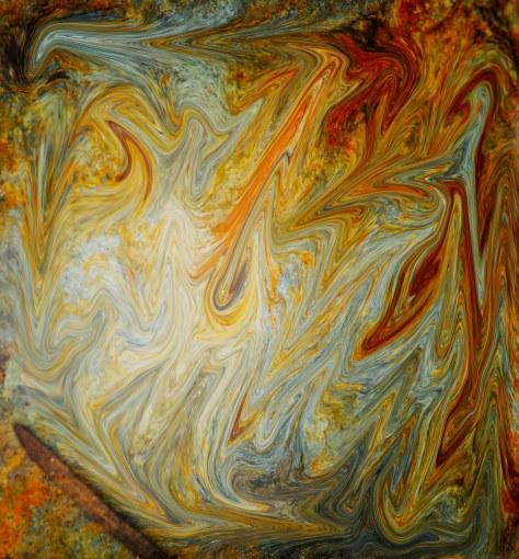 Abstract - Liquified Rock - ©Derek Chambers