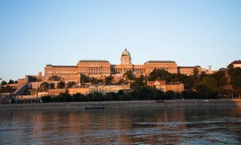 Budapest - National Art  Museum Buda side Budapest Hungary - ©Derek Chambers