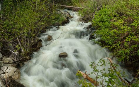 Stream Crossing Eakin Creek Road - ©Derek Chambers