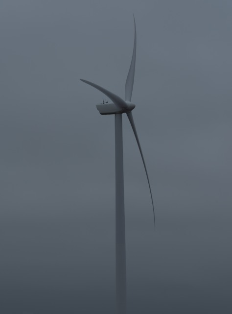Wind Generator, East Point, PEI - ©Derek Chambers