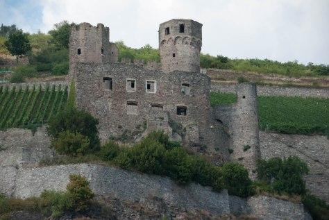 Ehrenfels Castle - Rudesheim am Rhein - ©Derek Chambers