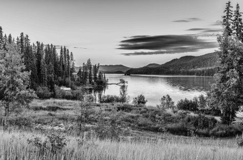 Lac des Roches BW - ©Derek Chambers