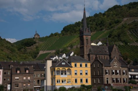 Middle Rhine - Gothic parish church - Hill church - Vineyard - Lorch - ©Derek Chambers