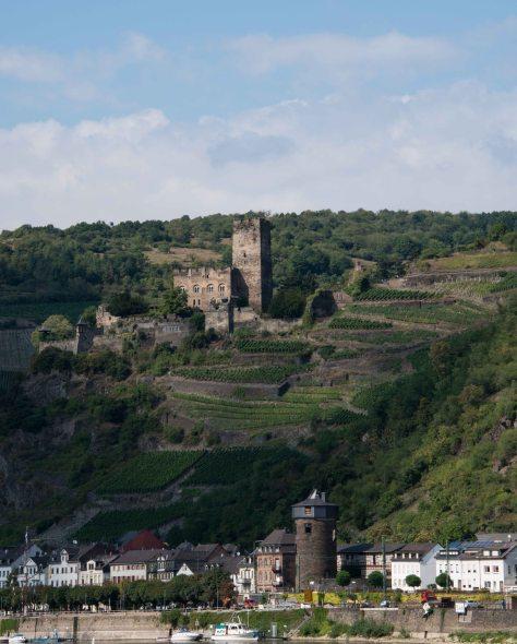 Middle Rhine - Gutenfels Castle now a hotel - Kaub - ©Derek Chambers