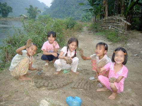 Mud Balls Fun, North Vietnam - ©Derek Chambers