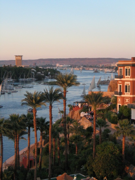 Nile and Elephantine Island at Aswan - Egypt - ©Derek Chambers