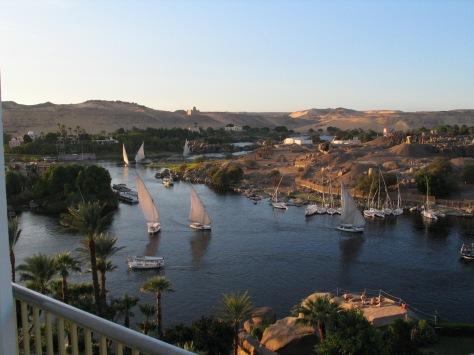 Nile at Aswan - Egypt - ©Derek Chambers