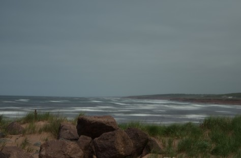 A Brisk Wind Blowing at North Lake, PEI - ©Derek Chambers