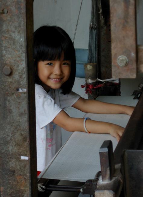 Silk Mother's Helper - North Vietnam - ©Derek Chambers