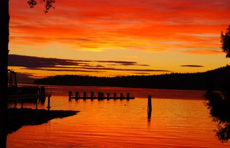 Sunrise - Galiano Island - ©Derek Chambers