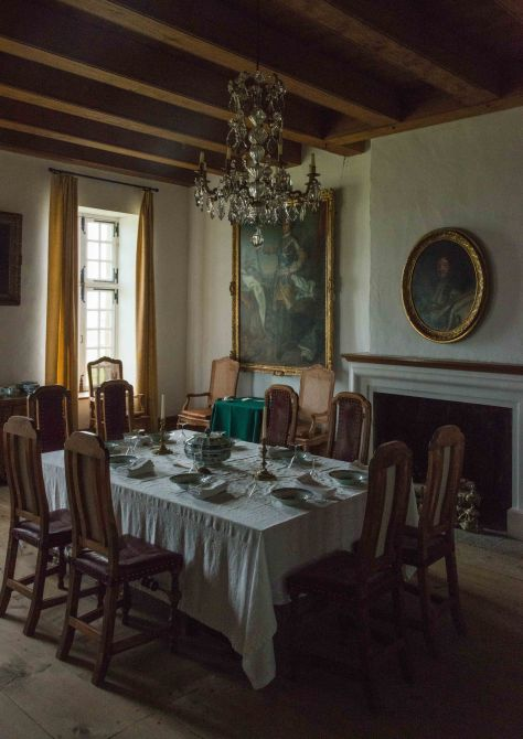 An Elegant Dining Room - Fortress at Louisbourg - Cape Breton - Nova Scotia - ©Derek Chambers