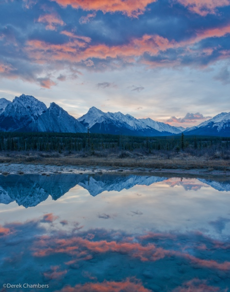 Dawn Comes To Kootenay Plains - ©Derek Chambers