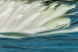 Dawson Falls Impression 20140722- ©Derek Chambers