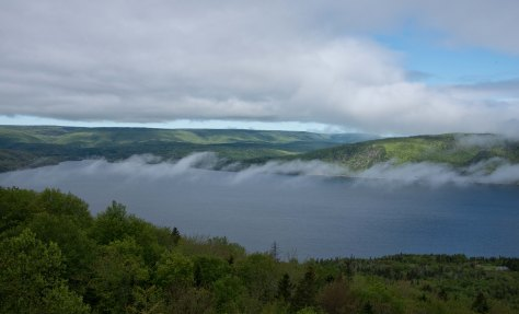 Rising Morning Mist - St Ann's Bay - Cape Breton - Nova Scotia - ©Derek Chambers