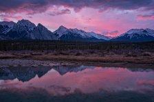 Kootenay Plains - Sunrise Over North Saskatchewan River - DSC4400- ©Derek Chambers