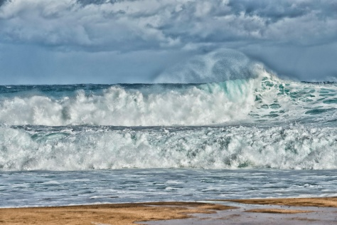 20160317 Waves At Tunnels Beach _DSC1246-182- ©Derek Chambers