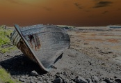 The Old Wreck - Flatey - Treated - ©Derek Chambers