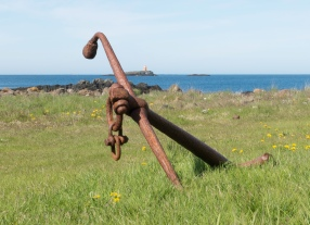 Anchor and Lighthouse - Flatey - ©Derek Chambers