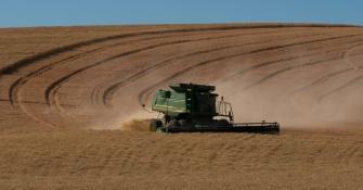 Harvest Time - Palouse - ©Derek Chambers