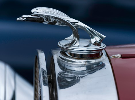Hood Ornament - Antique Car Show - Reykjavik - ©Derek Chambers