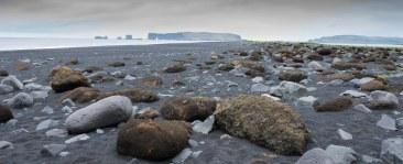 Reynisfjara Beach Towards Dyrholaey ©Derek Chambers