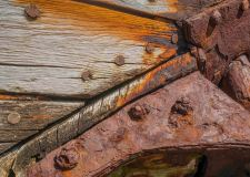 The Old Wreck - Detail - Flatey - ©Derek Chambers