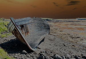 The Old Wreck -T - Flatey - ©Derek Chambers