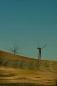 Wind Generators - Multiple Exposure - ©Derek Chambers