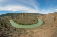 Horshoe Bend in Chilcotin River - ©Derek Chambers