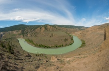 Horshoe Bend in Chilcotin River - ©Derek Chambers