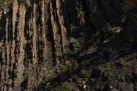 Shadows and Layers of Rock, Allstones Creek, Abraham Lake - ©Derek Chambers