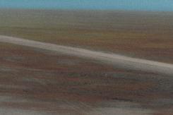 Dry Flats Abstract, Abraham Lake - ©Derek Chambers