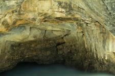 Rock Face, Matchstick Falls, Icefields Parkway - ©Derk Chambers