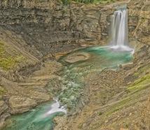 Ram Falls - Artist's Rendering, Nordegg - ©Derek Chambers