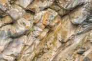 Rock Face Detail, Siffleur River Canyon, Kootenay Plains - ©Derek Chambers