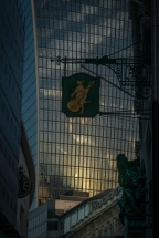 The Cat and the Fiddle near the Fenchurch Building (aka The Walkie Talkie - ©Derek Chambers