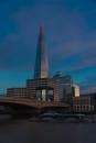 The Shard in the Evening Behind #1 London Bridge - ©Derek Chambers