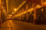 Leadenhall Market at Night (Harry Potter fans - does this look familiar?)- ©Derek Chambers