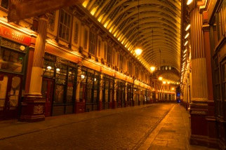 Leadenhall Market At Night - ©Derek Chambers