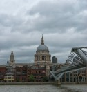 St. Paul's and Millennium Bridge - ©Derek Chambers