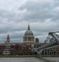 St. Paul's and Millennium Bridge - ©Derek Chambers