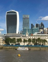 Overshadowing the old with the new - City of London - ©Derek Chambers