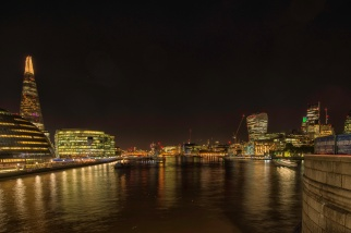 Looking Up the Thames from Tower Bridge - ©Derek Chambers