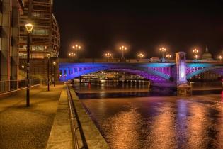 Southwark Bridge and Bankside - ©Derek Chambers