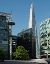 The Shard and The Littlest Crane - ©Derek Chambers