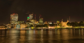 The Tower of London, the Gherkin, the Cheese Grater and the Walkie Talkie (Fenchurch) - ©Derek Chambers