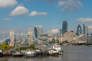 Tower Bridge and the New Architecture of the Square Mile - ©Derek Chambers