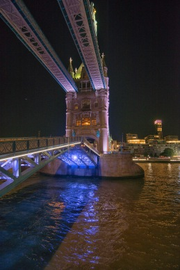 Tower Bridge Nearly Closed - ©Derek Chambers
