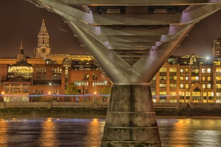 Under the Millennium Bridge - ©Derek Chambers